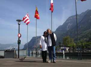 Me and my husband, Switzerland