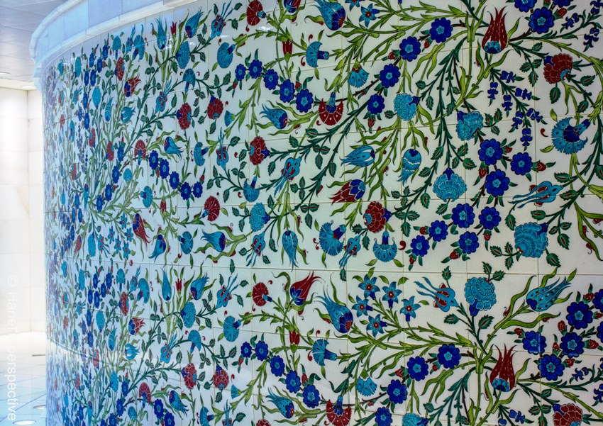 Photo Essay Blue Is For Iznik Ceramic Tiles And Artwork