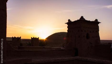 Ben Haddou Sunrise