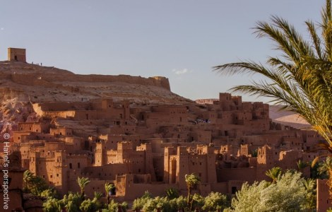 KSAR Ait Ben Haddou at sunset