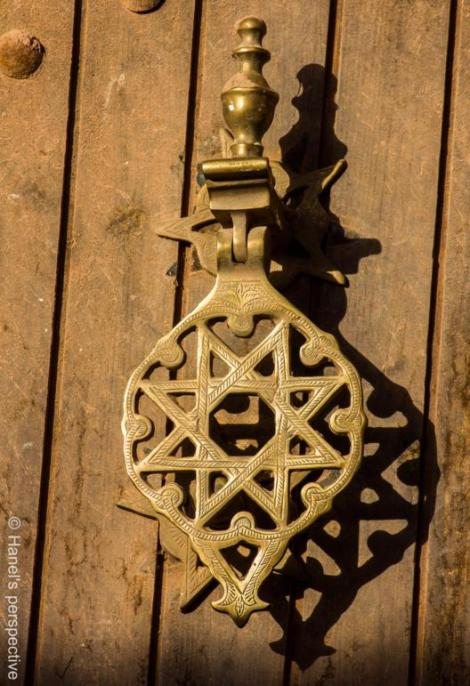 Door knocker, Ben Haddou
