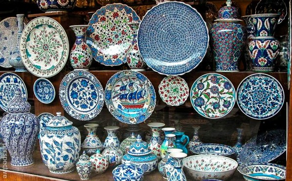 Photo Essay Blue Is For Iznik Ceramic Tiles And Artwork