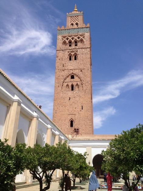 Minaret of the Kutubiya Mosque, Marrakech