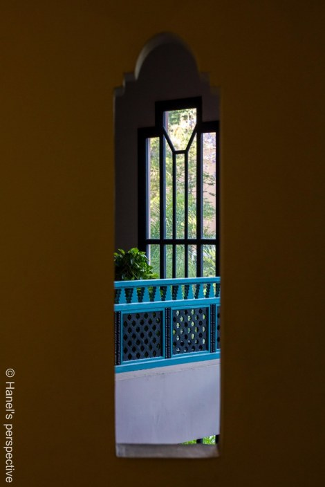 Window through window, Marrakech