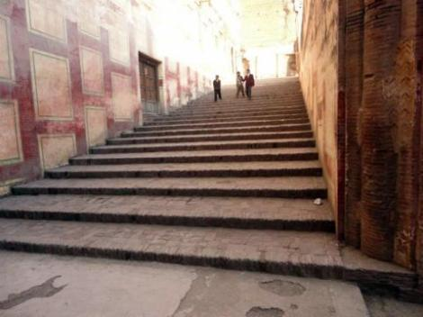 The elephant stairs, Lahore fort