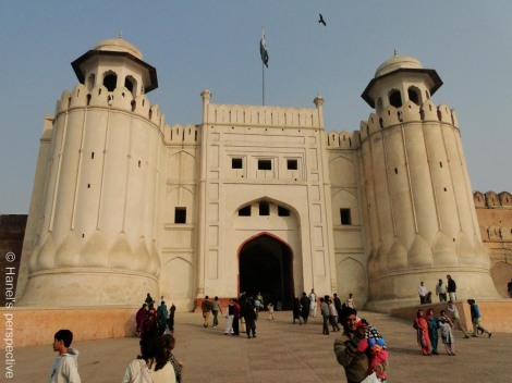Alamgiri Gate of Lahore Fort, Pakistan