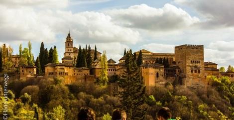 The Alhambra, Granada, in the Golden hour