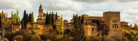 The Alhambra, Granada, in the Golden hour