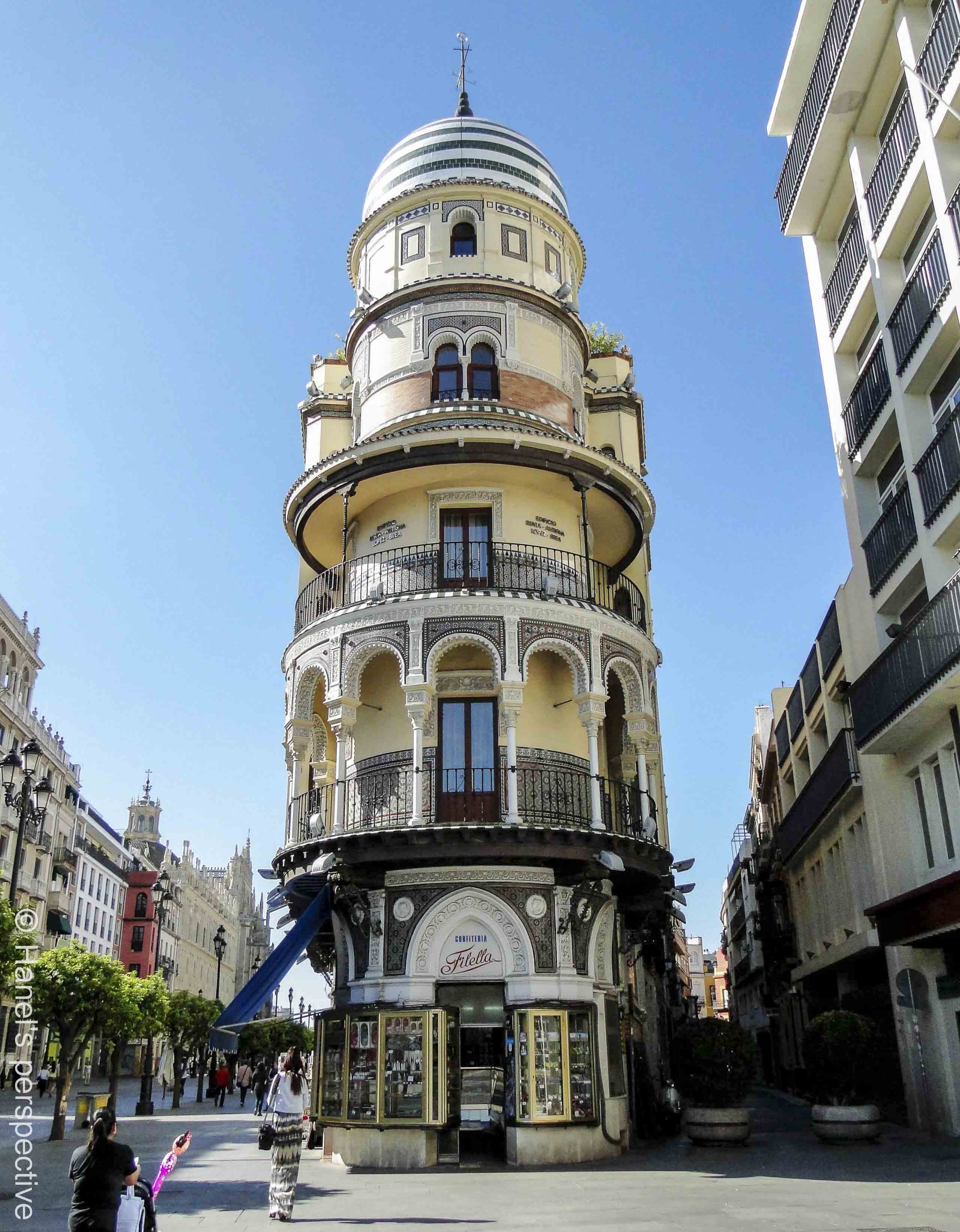 A Word A Week Challenge: Arches – Seville Part 1