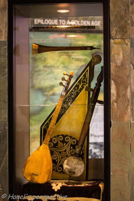 Music instrument of mediaeval times