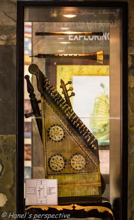Arabic Music instrument, Exhibition in Ibn Battuta Mall Museum