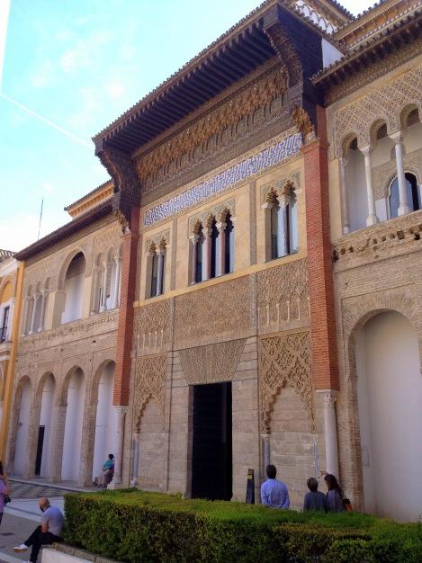 Entrance to the Real Alcazar's Patios