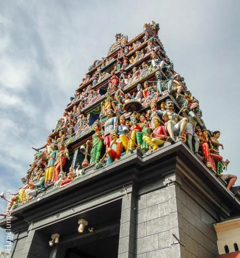 Sri Mariamman Temple, Singapore, Chinatown