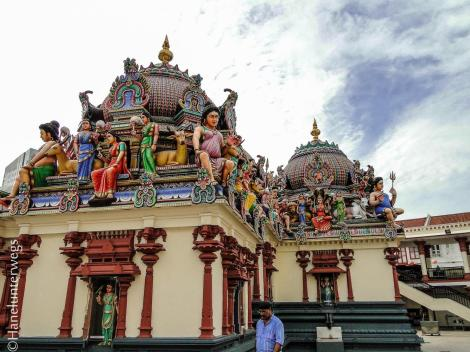 Sri Mariamman Temple, Singapore, Chinatown