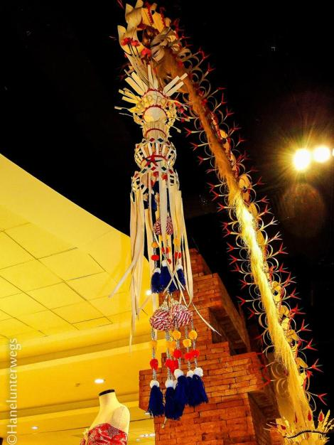 Typical Bali (Hindu) decorations at celebrations