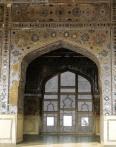 Lahore Fort: Squares in geometric designs