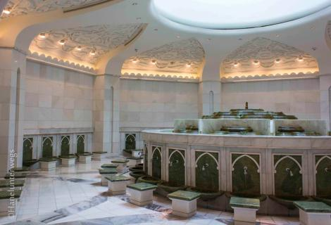 Ablution rooms for women