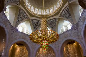 Chandelier of Grand Mosque, Abu Dhabi