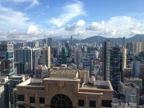 Good morning Hong Kong: View of Kowloon Island