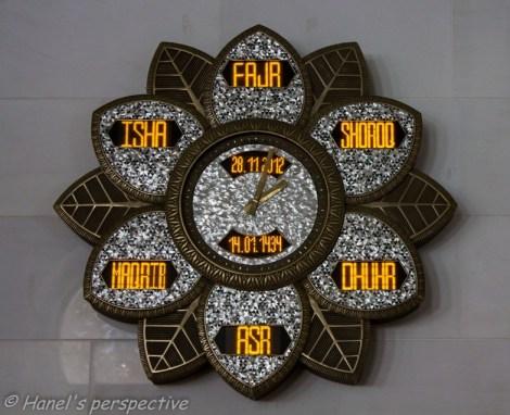 Prayer time clocks